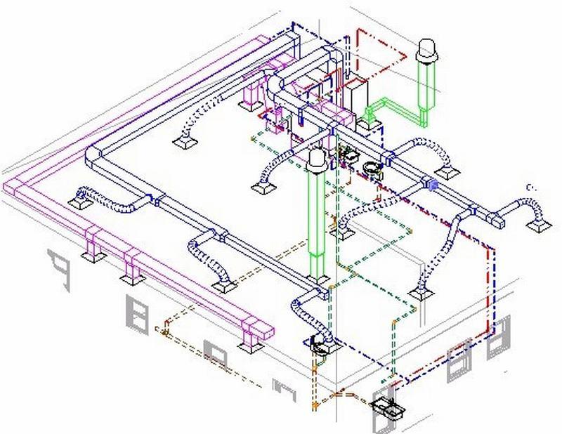 Kiểm tra hệ thống trong AutoDesk Revit MEP 2015